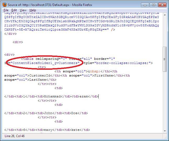 Understanding ClientIDMode Mode Feature in ASP net 4 0