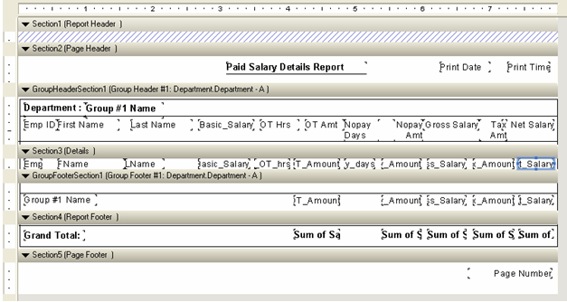 Creating Crystal Report with Multiple Tables in ASP NET