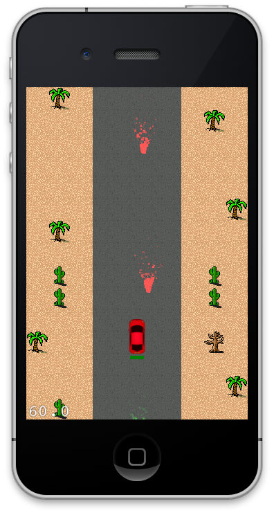 Creating a Vertical Scrolling Car Game Using Cocos2d Part 2