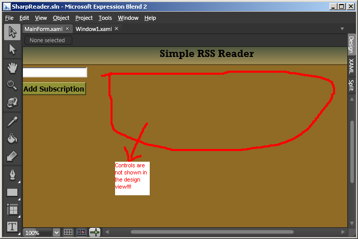 Creating a Simple RSS Reader Using Windows Presentation